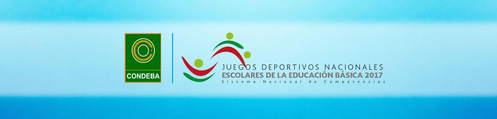 Juegos Deportivos Nacionales Escolares De La Educacion Basica 2017